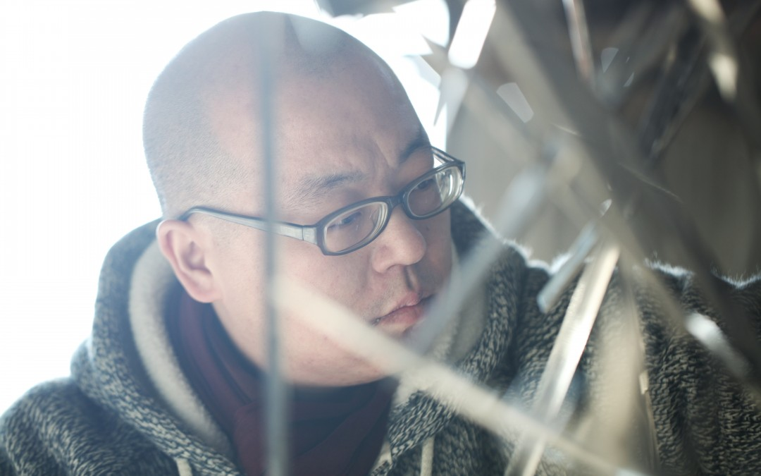 In the studio with Yu Yang, Enlightenment